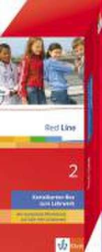 Red Line 2. Vokabel-Lernbox zum Schuelerbuch