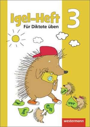 Igel - Hefte: Für Diktate üben