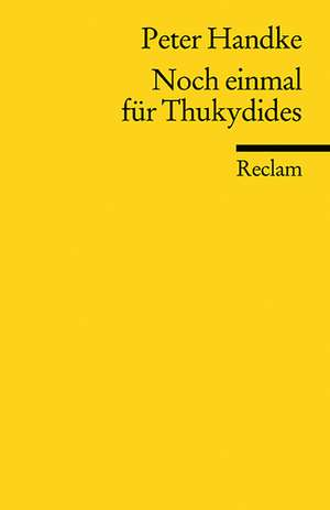 Noch einmal fuer Thukydides