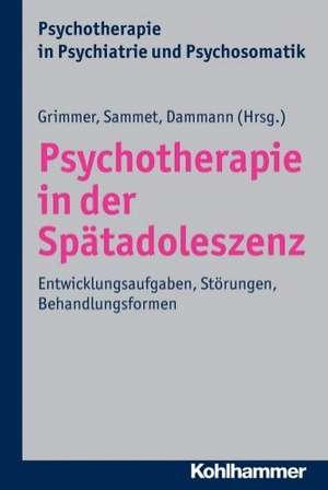 Psychotherapie in Der Spatadoleszenz