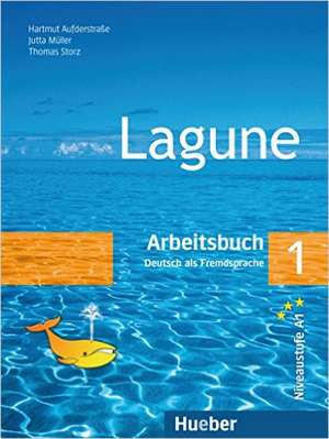Lagune 1. Arbeitsbuch de Hartmut Aufderstraße