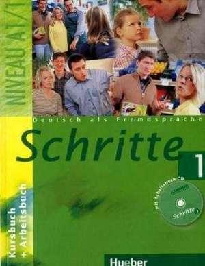 Schritte 1. Kursbuch und Arbeitsbuch mit Audio-CD zum Arbeitsbuch