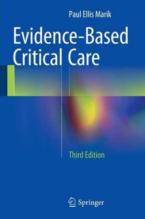 Evidence-Based Critical Care imagine