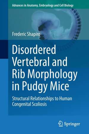 Disordered Vertebral and Rib Morphology in Pudgy Mice
