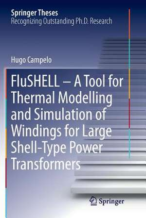 FluSHELL – A Tool for Thermal Modelling and Simulation of Windings for Large Shell-Type Power Transformers de Hugo Campelo
