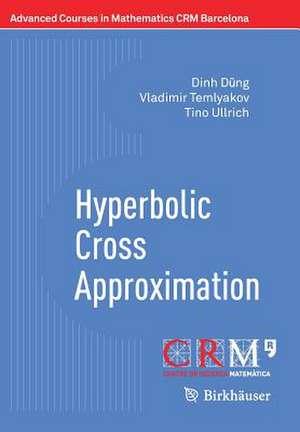 Hyperbolic Cross Approximation de Dinh Dũng