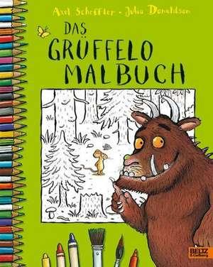 Der Grueffelo. Das Grueffelo-Malbuch