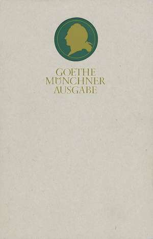 Saemtliche Werke 15. Muenchner Ausgabe. Italienische Reise