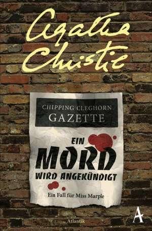 Ein Mord wird angekündigt de Agatha Christie