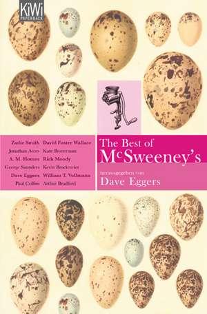 The Best of McSweeney's de David Eggers
