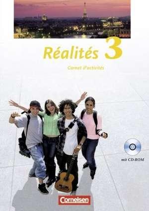 Realites 3. Nouvelle Edition. Carnet d'activites mit CD-ROM