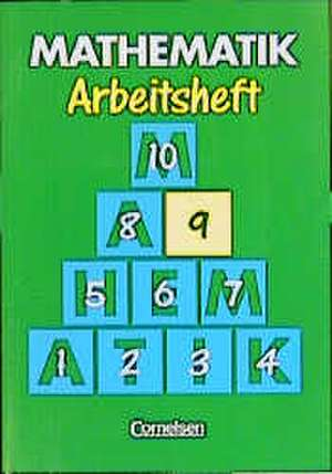Mathematik 9. Arbeitsheft. Neue Ausgabe fuer Sonderschulen