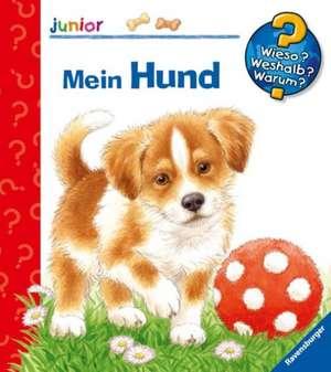 Mein Hund: Wieso? Weshalb? Warum? junior'.  Copii de la  2 ani de Patricia Mennen