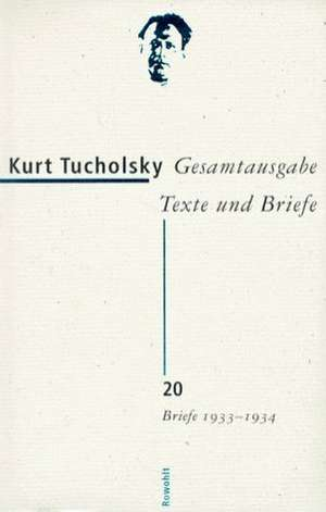 Briefe 1933 - 1934