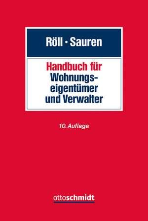 Handbuch fuer Wohnungseigentuemer und Verwalter