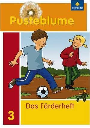 Pusteblume. Das Sprachbuch. Foerderheft 3. Zusatzmaterial