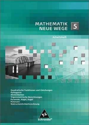 Mathematik Neue Wege SI 5. Arbeitsheft