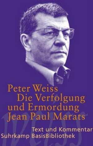 Die Verfolgung und Ermordung Jean Paul Marats. Drama in zwei Akten.