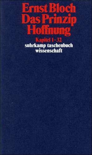 Das Prinzip Hoffnung de Ernst Bloch