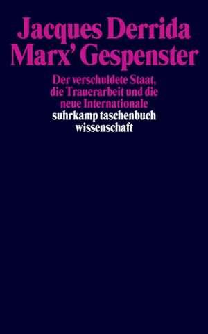 Marx' Gespenster de Susanne Lüdemann