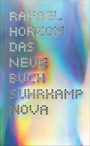Das Neue Buch de Rafael Horzon