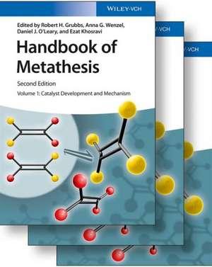 Handbook of Metathesis, 3 Volume Set