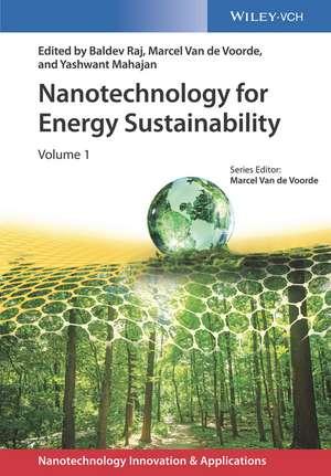 Nanotechnology for Energy Sustainability: 3 Volume Set de Baldev Raj