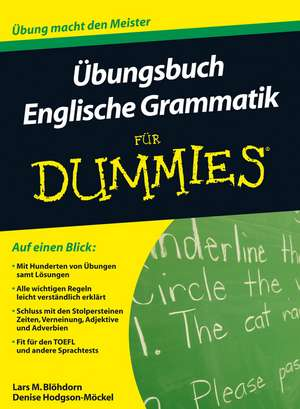 UEbungsbuch Englische Grammatik fuer Dummies