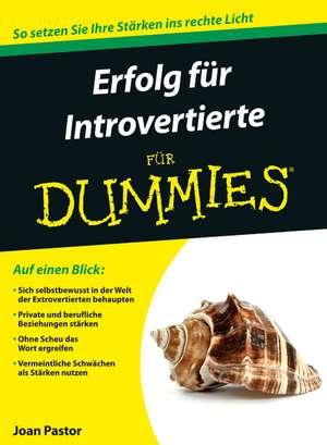 Erfolg fuer Introvertierte fuer Dummies