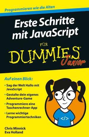 Erste Schritte mit JavaScript fuer Dummies Junior