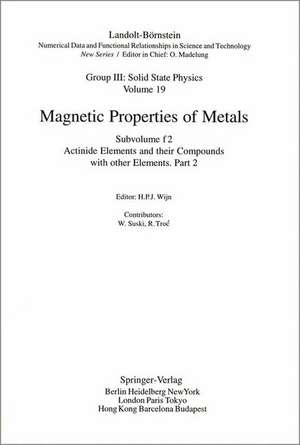 Actinide Elements and their Compounds with other Elements. de W. Suski