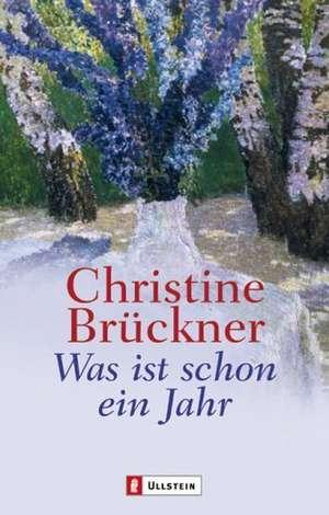 Was ist schon ein Jahr de Christiane Brückner