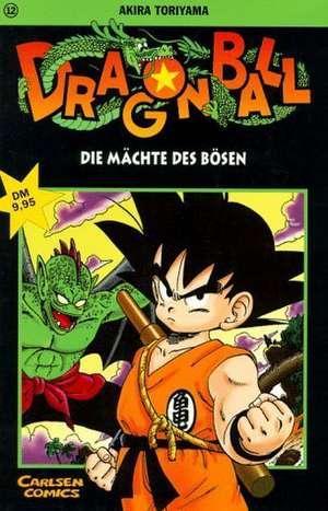 Dragon Ball 12. Die Maechte des Boesen