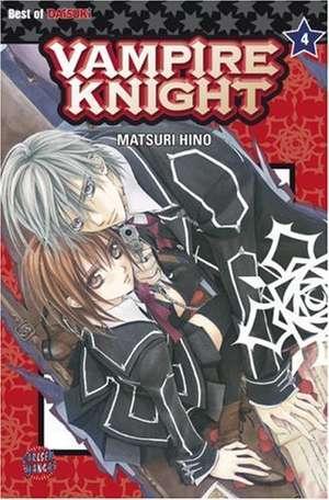 Vampire Knight 04 de Matsuri Hino