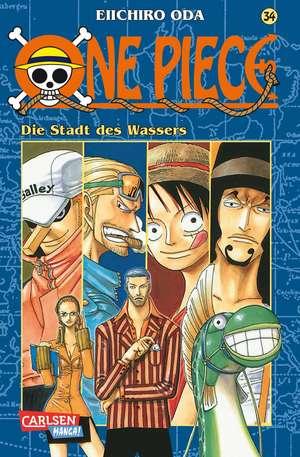 One Piece 34. Die Stadt des Wassers de Eiichiro Oda