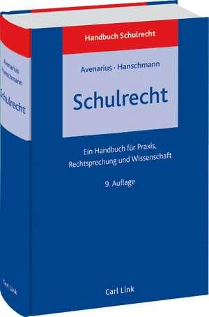 Schulrecht de Hermann Avenarius
