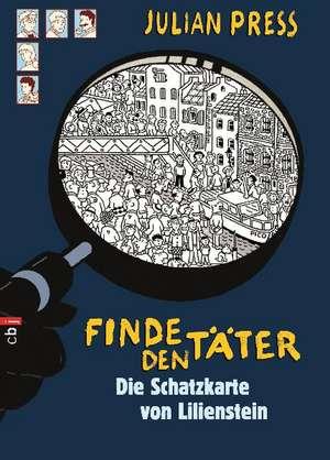 Finde den Taeter - Die Schatzkarte von Lilienstein