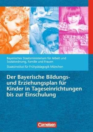 Der Bayerische Bildungs- und Erziehungsplan fuer Kinder in Tageseinrichtungen bis zur Einschulung