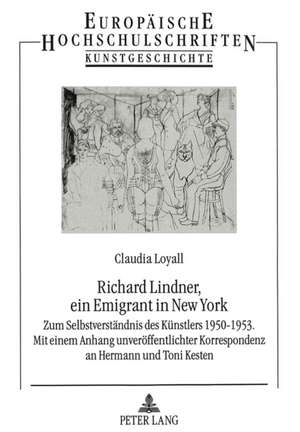 Richard Lindner, Ein Emigrant in New York