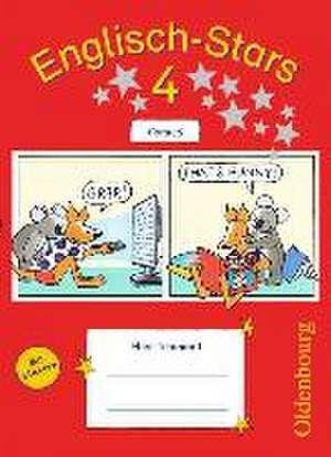 Englisch-Stars 4. Schuljahr. UEbungsheft Comics mit Loesungsheft