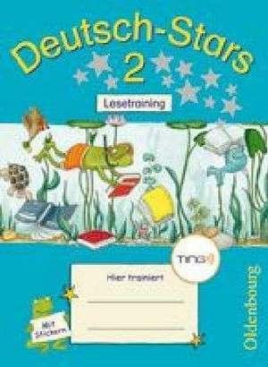 Deutsch-Stars 2. Schuljahr Lesetraining. Ting-Ausgabe de Ursula Kuester