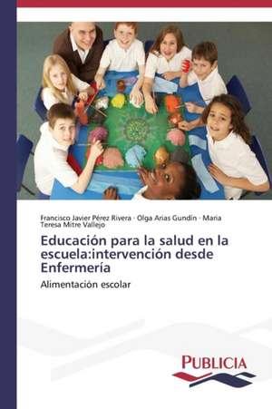 Educacion Para La Salud En La Escuela