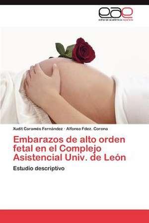 Embarazos de Alto Orden Fetal En El Complejo Asistencial Univ. de Leon