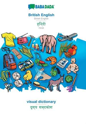 BABADADA, British English - Hindi (in devanagari script), visual dictionary - visual dictionary (in devanagari script) de  Babadada Gmbh