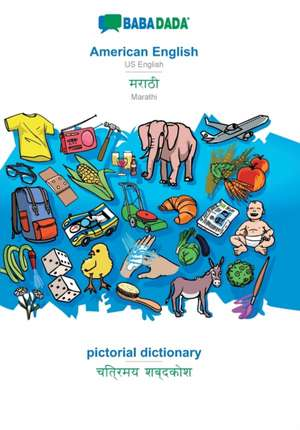 BABADADA, American English - Marathi (in devanagari script), pictorial dictionary - visual dictionary (in devanagari script) de  Babadada Gmbh