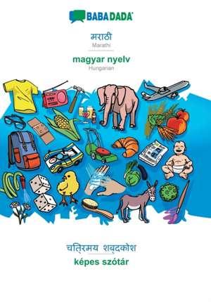 BABADADA, Marathi (in devanagari script) - magyar nyelv, visual dictionary (in devanagari script) - képes szótár de  Babadada Gmbh