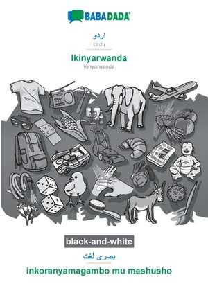 BABADADA black-and-white, Urdu (in arabic script) - Ikinyarwanda, visual dictionary (in arabic script) - inkoranyamagambo mu mashusho de  Babadada Gmbh