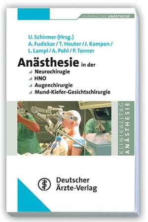 Anaesthesie bei Operationen an Kopf und Hals