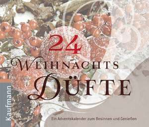 24 Weihnachtsduefte