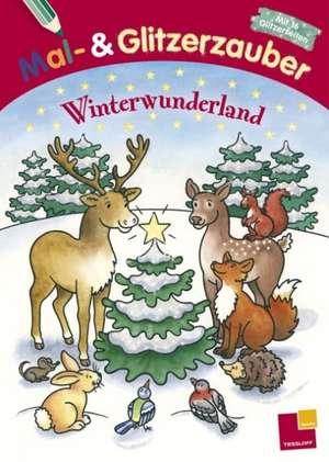 Mal- und Glitzerzauber. Winterwunderland de Marion Durczok